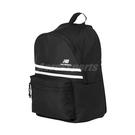 New Balance 後背包 Essentials Backpack 黑 白 男女款 運動休閒 【PUMP306】 LAB01022BK