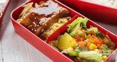 【中秋特惠】日本雙層飯盒便當盒日式餐盒可微波爐加熱塑料 分隔午餐盒 3件套