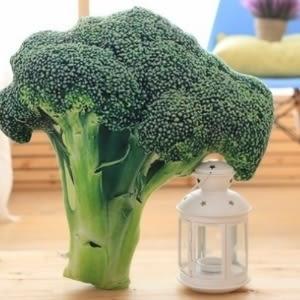 ♥賀年新款♥【105122146】花椰菜 創意仿真水果蔬菜沙發抱枕靠墊