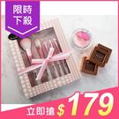 韓國 SkinApple 5件組化妝刷具(珍珠白)附盒【小三美日】原價$249