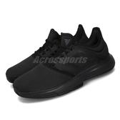 adidas 網球鞋 GameCourt M 黑 全黑 男鞋 運動鞋 【PUMP306】 EF0573