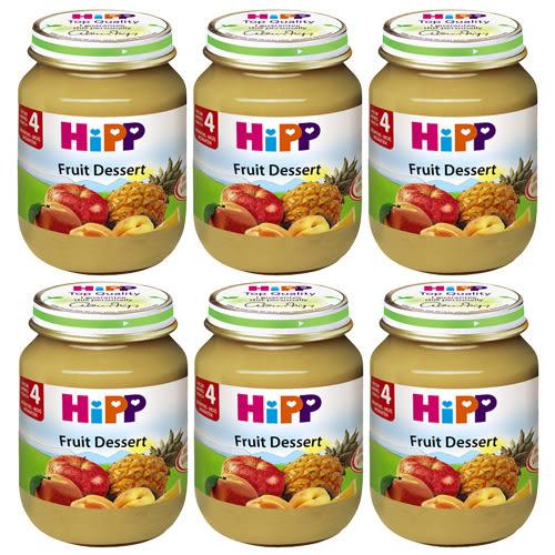 HiPP 喜寶 有機綜合水果泥 125g x6罐
