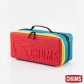 CHUMS 日本 Booby 收納盒(L)-紅/藍綠 【GO WILD】