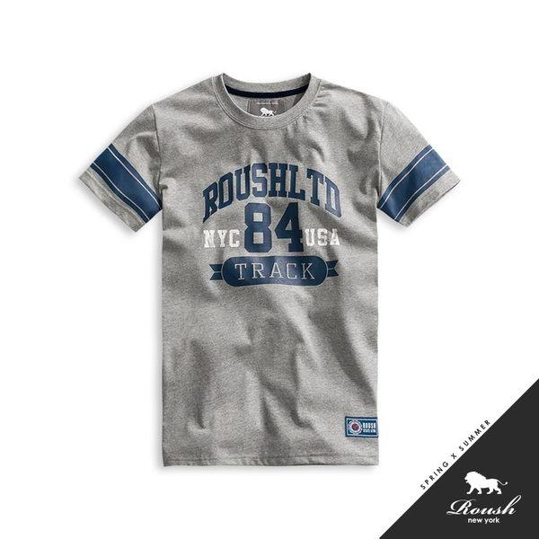 【Roush】 美式橄欖球風格水洗短TEE -【912100】