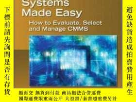 二手書博民逛書店Computerized罕見Maintenance Management Systems Made EasyY