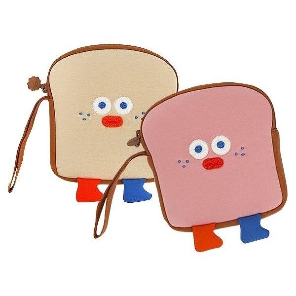 韓國 ROMANE 早午餐兄弟吐司收納包(1入) 款式可選【小三美日】Brunch Brother