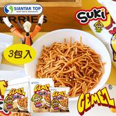 韓國 GEMEZ SUKI 韓式小雞麵(3入裝) 90g 小雞麵 點心麵 點心脆麵
