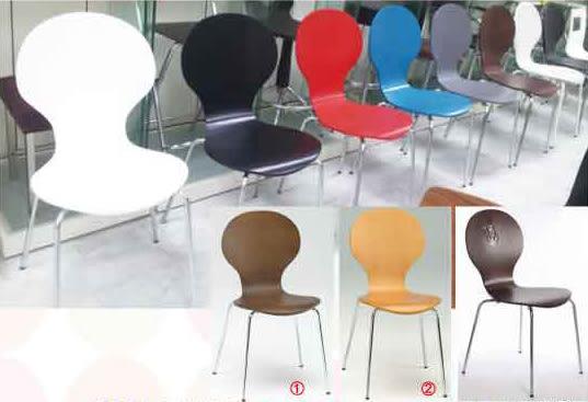 【南洋風休閒傢俱】設計單椅系列 –八字米勒餐椅 咖啡館餐布藝休閒椅 適餐廳 居家(517-10)