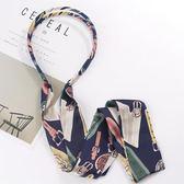 萬聖節狂歡   韓版印花彩色發箍簡約寬邊多用飄帶頭箍韓國頭飾發帶絲帶發卡發飾   mandyc衣間