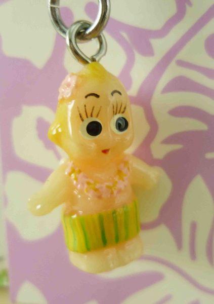 【震撼精品百貨】Q比_Kewpie~拉鍊扣-白草裙