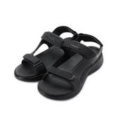DIADORA 紓壓厚底彈力涼鞋 黑 DA71150 男鞋 鞋全家福