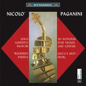 【停看聽音響唱片】【CD】帕格尼尼:小提琴與吉他奏鳴曲I(2CD)