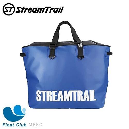 STREAM TRAIL 日本潮流防水包 大容量單肩行李袋 94L Mero-0 防水包 背包 藍色 原價3480元