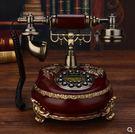 設計師美術精品館GDIDS時尚經典歐式田園仿古電話機老式創意復古工藝個性電話機