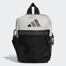 adidas 包包 PARKHOOD ORG 男女款 小包 隨身包 證件包 斜背包 黑 灰 【PUMP306】 DQ1074