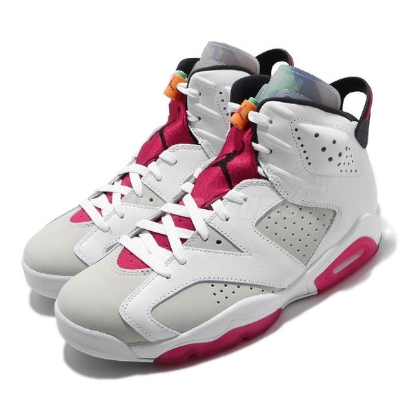 Nike Air Jordan 6 Retro Hare 白 紅 男鞋 兔寶寶 喬丹 6代 籃球鞋 【ACS】 CT8529-062