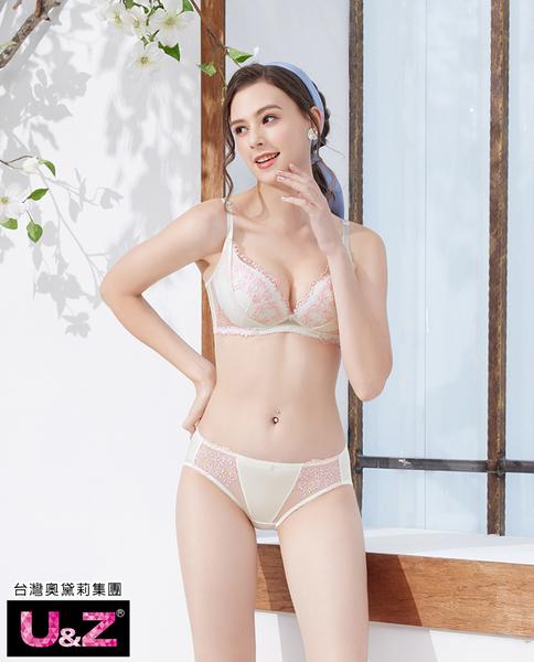 U&Z-傾慕之戀 無鋼圈A-E罩內衣(愛戀白)-台灣奧黛莉集團