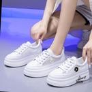 內增高韓版時尚百搭透氣板鞋增高鞋女小雛菊【愛物及屋】