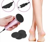 新款電動美腳神器 電動去死皮機 磨腳機 磨腳皮機 去角質機 足部保養 修足機美腳工具NailsMall