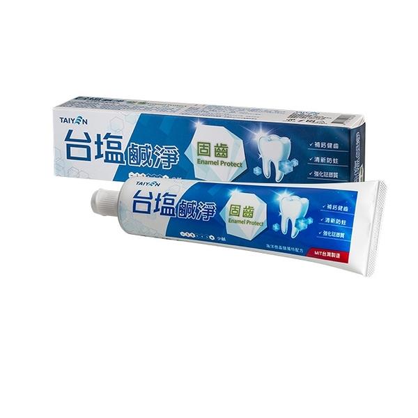 台鹽鹹淨固齒牙膏150g【台鹽生技】