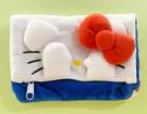 【震撼精品百貨】Hello Kitty 凱蒂貓~Hello Kitty日本SANRIO三麗鷗KITTY化妝包/筆袋-立體遮眼*10448