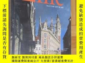 二手書博民逛書店Lille罕見VILLE DART CITY OF ART (大