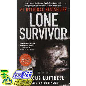 [104美國直購] 美國暢銷書排行榜 Lone Survivor: The Eyewitness Account of Operation Redwing and the Lost Heroes