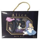 日本進口-迪士尼DISNEY愛麗絲Alice沐浴禮盒5件組--生日.抽獎禮.情人節聖誕節禮物.交換禮物