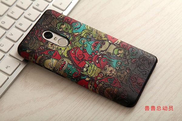 紅米Note4 手機殼 小米 紅米note 4 保護套 全包 魔法師 黑邊 浮雕軟殼 創意個性風格 防滑 防摔