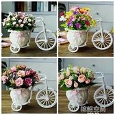 客廳絹花干花束塑料假花仿真花車套裝飾品家居盆栽小擺件室內擺設