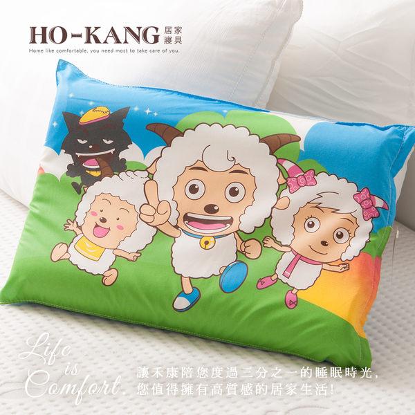 經典卡通 100%天然幼童乳膠枕-SY郊遊藍