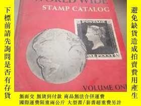 二手書博民逛書店MINKUS罕見NEW WORLD WIDE STAMP CAT