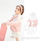 童裝女童外套夏裝中大童輕薄皮膚衣物理防曬上衣【Kacey Devlin】