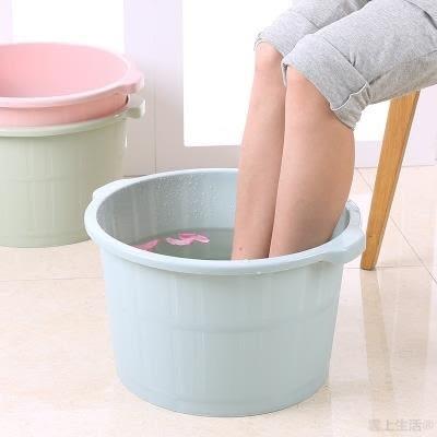 【雲上生活】塑料泡腳桶足浴盆家用成人按摩洗腳盆泡腳盆足浴桶洗腳桶