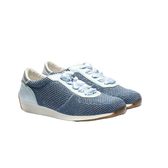 ORWARE-金蔥飛線針織休閒鞋652131-07藍
