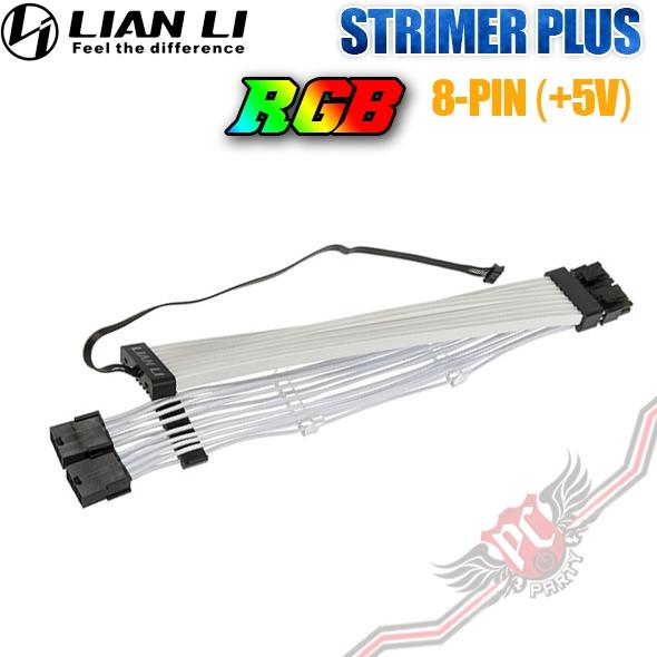 [ PCPARTY ] 聯力 Lian STRIMER PLUS 8PIN RGB 燈光排線 GPU延長線 燈光排線