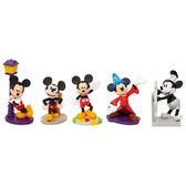 Disney 迪士尼 / 米奇90週年 3吋公仔五入組