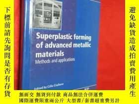 二手書博民逛書店Superplastic罕見Forming of Advance