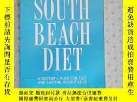 二手書博民逛書店16開英文原版罕見The south beach diet :A Doctor s plan for fast a