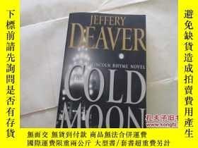 二手書博民逛書店JEFFERY罕見DEAVER THE COLD MOON【71