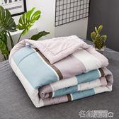 日式水洗棉全棉夏被夏季空調被夏涼被純棉可水洗單雙人夏天薄被子 名創家居館igo