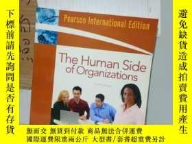 二手書博民逛書店罕見實拍;Human Side of Organizations