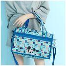 旅行袋-迪士尼探索童趣米奇輕旅系列小款旅行袋-單1款-A13130075-天藍小舖