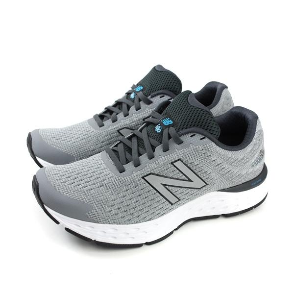 NEW BALANCE 680 v.6 跑鞋 運動鞋 灰色 超寬楦 男鞋 M680LG6-4E no538