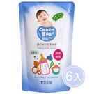 【奇買親子購物網】雪芙蘭親貝比 嬰幼兒奶瓶清潔劑補充包600ml/6入