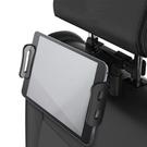 汽車椅背頭枕專用伸縮手機平板支架 椅背車...