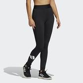Adidas TF ADILIFE T 女款黑色運動緊身褲-NO.GM2986