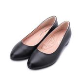 GOOD-DAY 牛皮小尖內增高鞋 黑 女鞋 鞋全家福