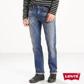 Levis 男款511 低腰修身窄管牛仔長褲 / 高彈力面料