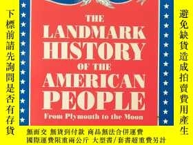 二手書博民逛書店The罕見Landmark History of the Ame
